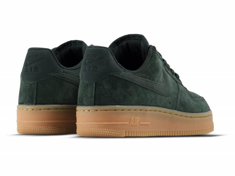 298e864d2e7 Nike Air Force 1  07 LV8 Suede Outdoor Green Outdoor Green AA1117 ...