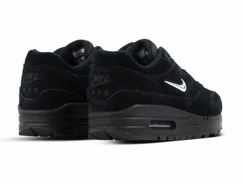 6c961b2cd9a Nike Air Max 1 Premium SC Black Chrome Black 918354 005