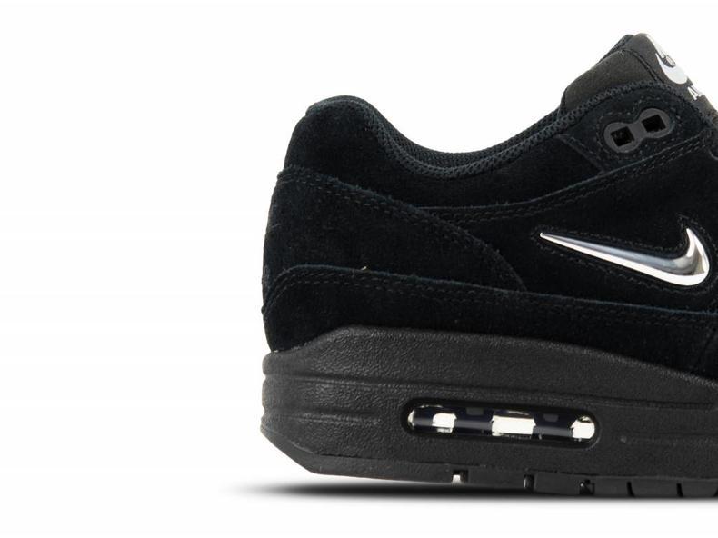 1ee7f8f0640d Nike Air Max 1 Premium SC Black Chrome Black 918354 005