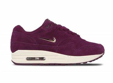Nike WMNS Air Max 1 Premium CS Bordeaux Blur Bio Beige AA0512 600