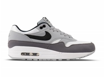 Nike Air Max 1 White Black Wolf Grey Gunsmoke AH8145 101