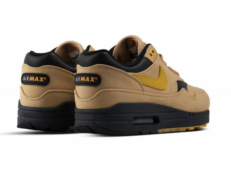 98d2bf96071a Nike Air Max 1 Premium Elemental Gold Mineral Yellow Black 875844 ...