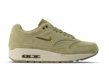 Nike Air Max 1 Premium SC Neutral Olive Metallic Gold Desert Sand 918354 201