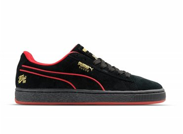 Puma Suede Classic x FUBU Black High Risk Red 366320 02