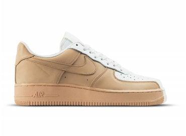 Nike Air Force 1 '07 PRM Sail Vachetta Tan Sail 905345 105