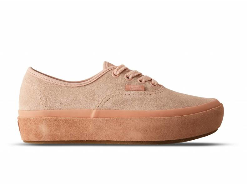 6ee18d59fab3 Vans Authentic Platform Suede Outsole Evening Sand VN0A3AV8QB2 ...