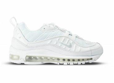 Nike Air Max 98 White Pure Platinum Black 640744 106