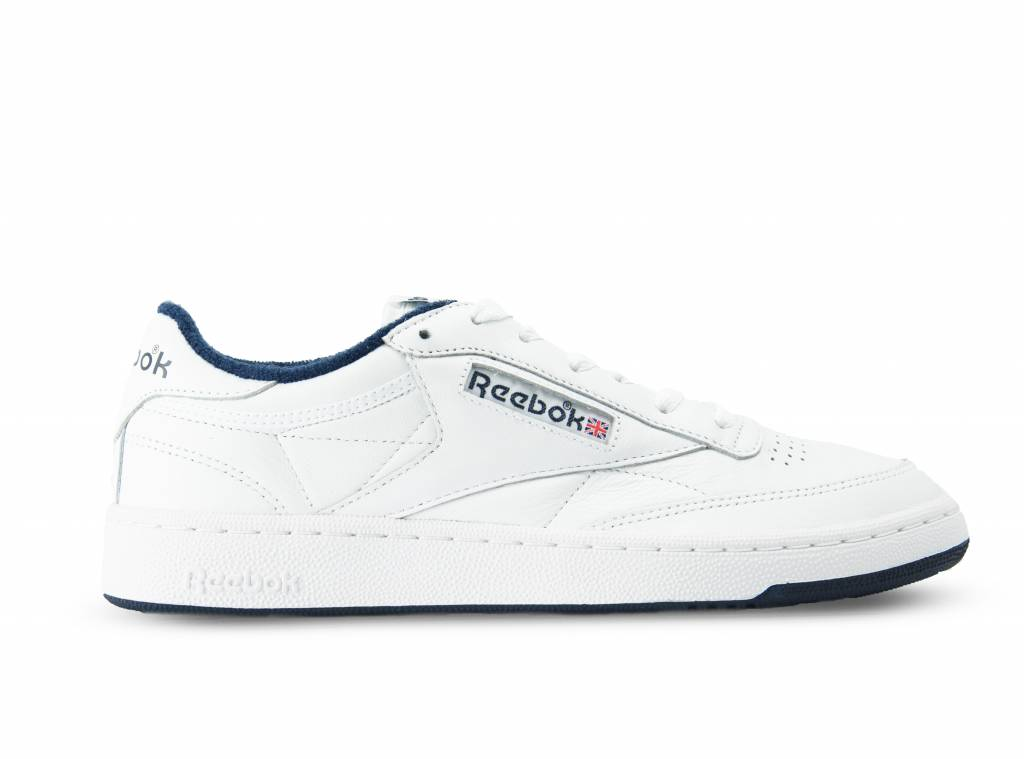 Club C 85 Archive White Collegiate Navy Red CN0646 will be added to your  shopping card 121a217f2439