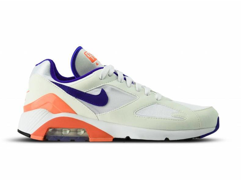Nike Air Max 180 White Ultramarine Solar Red 615287 100  893e857ba