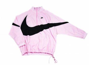 Nike Swoosh Half Zip Jacket Pink Black AJ2696 686