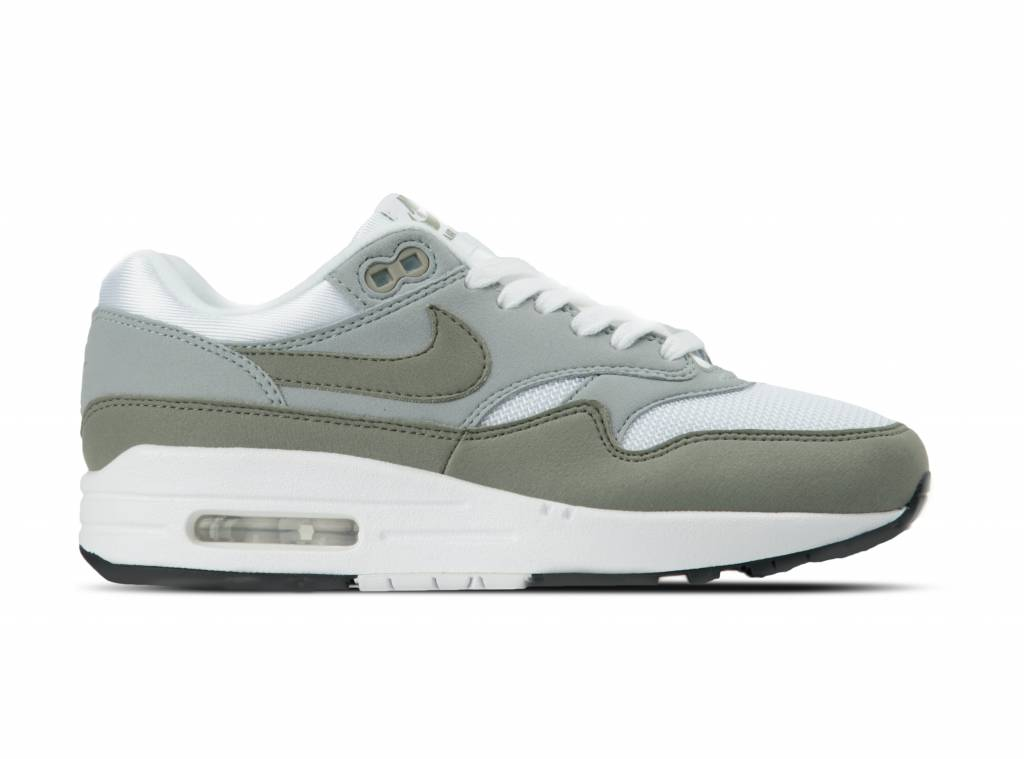 new concept 48703 49314 WMNS Air Max 1 White Dark Stucco Light Pumice 319986 105 will be added to your  shopping card