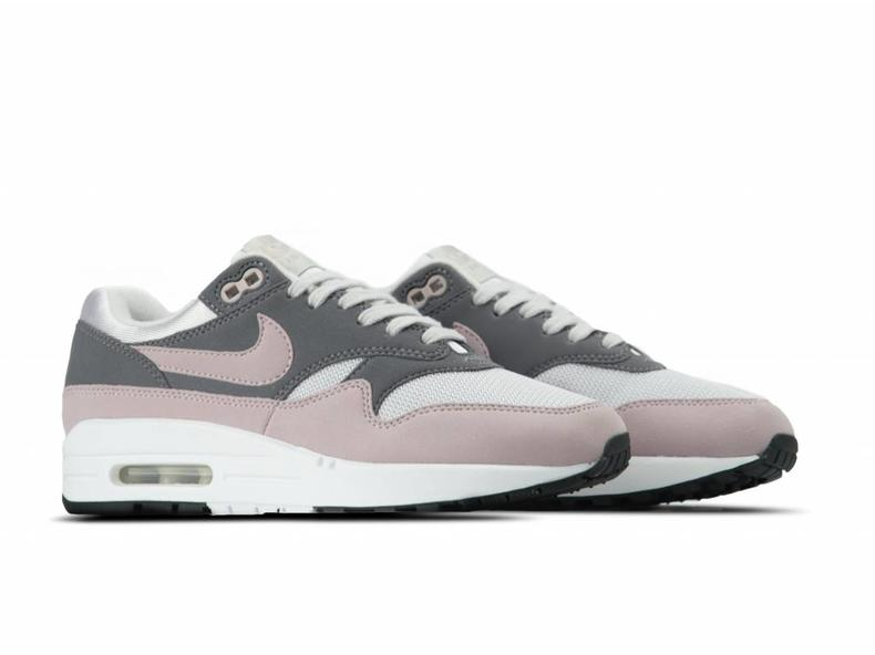 the latest bb055 77b7b WMNS Air Max 1 Vast Grey Particle Rose 319986 032