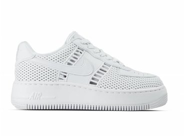 Nike W Air Force 1 Upstep SI White White Vast Grey 917591 100