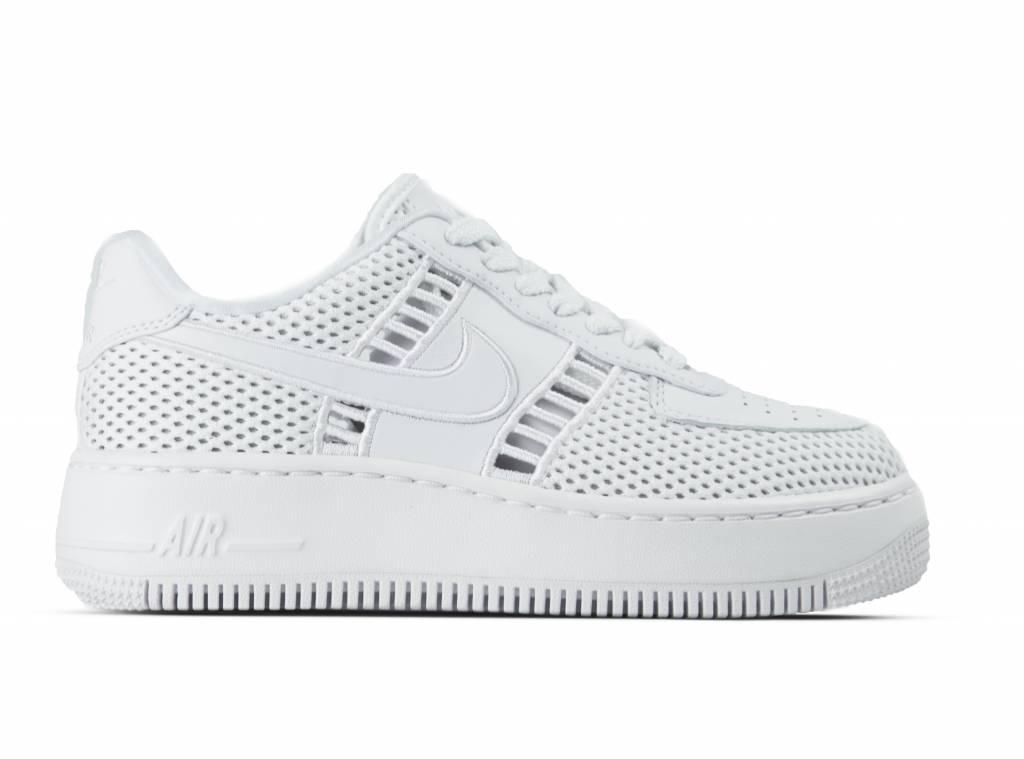 d155f95b16cbe Nike W Air Force 1 Upstep SI White White Vast Grey 917591 100 ...