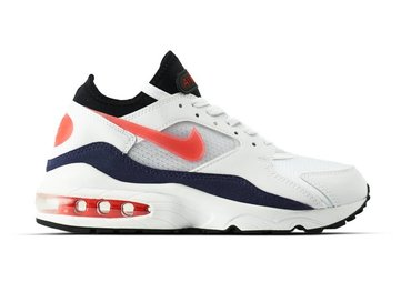 Nike Air Max 93 White Habanero Red 306551 102