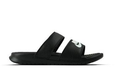 Nike WMNS Benassi Duo Ultra Slide Black White 819717 010