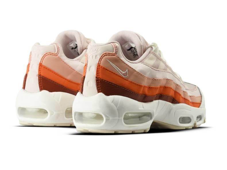 WMNS Air Max 95 Barely Rose Coral Stardust 307960 604
