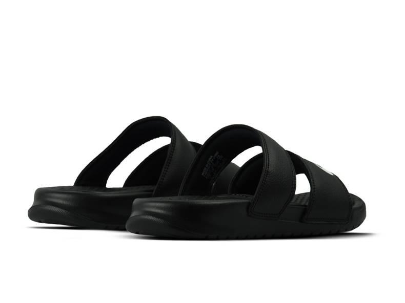 WMNS Benassi Duo Ultra Slide Black White 819717 010