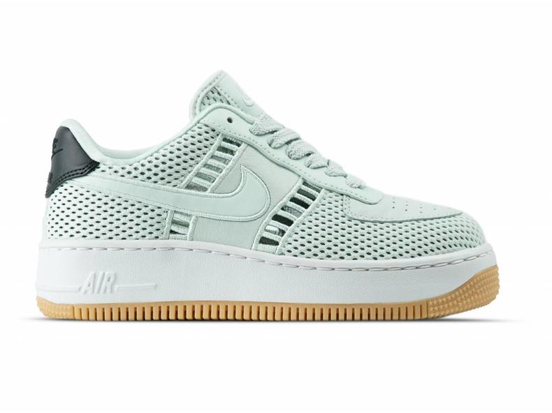 new product 7e264 4776e W Air Force 1 Upstep SI Barely Grey Barely Grey 917591 001