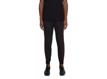Daily Paper Black Red Tape Logo Track Pants  NOSB06