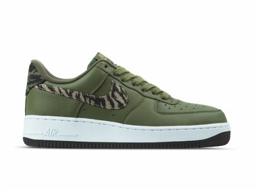 Nike Air Force 1 AOP PRM Medium Olive Khaki AQ4131 200