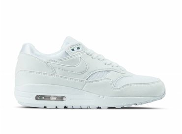 Nike WMNS Air Max 1 White White Pure Platinum 319986 108