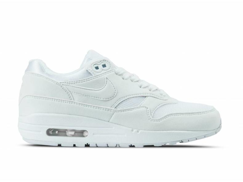 huge selection of 778b0 6106d WMNS Air Max 1 White White Pure Platinum 319986 108