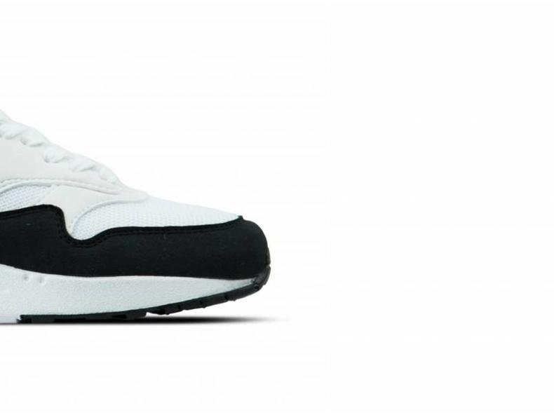 WMNS Air Max 1 White Black 319968 109