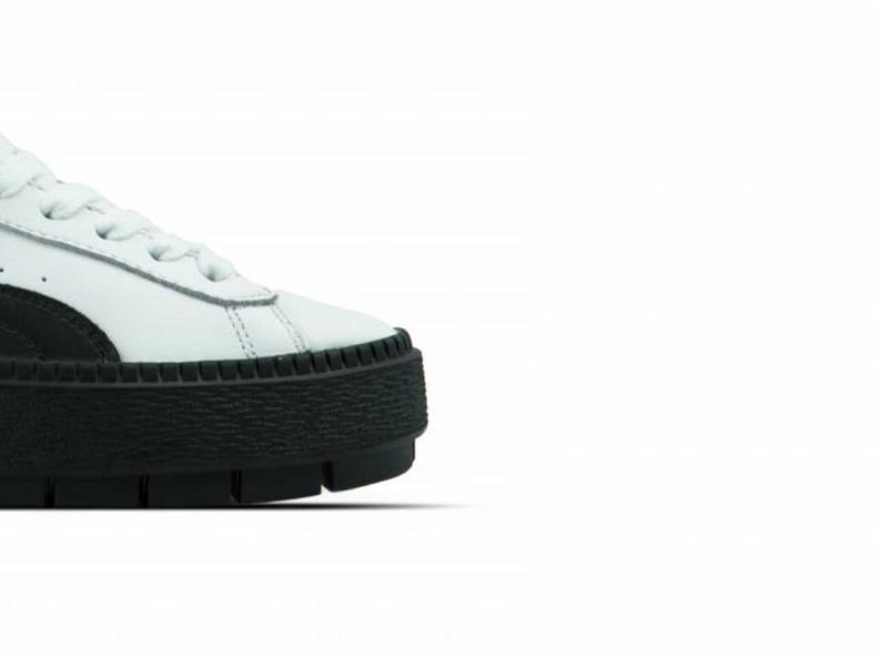 Platform Trace L Wn's Puma White Puma Black 366109 02