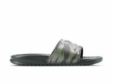 Nike Benassi JDI Sequoia Medium Olive Black AQ5060 300