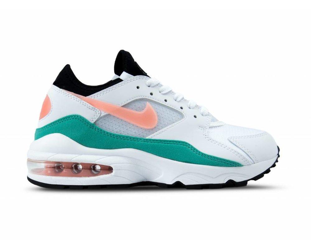 Nike Air Max 93 White Crimson Bliss 306551 105 | Bruut