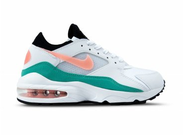 Nike Air Max 93 White Crimson Bliss 306551 105