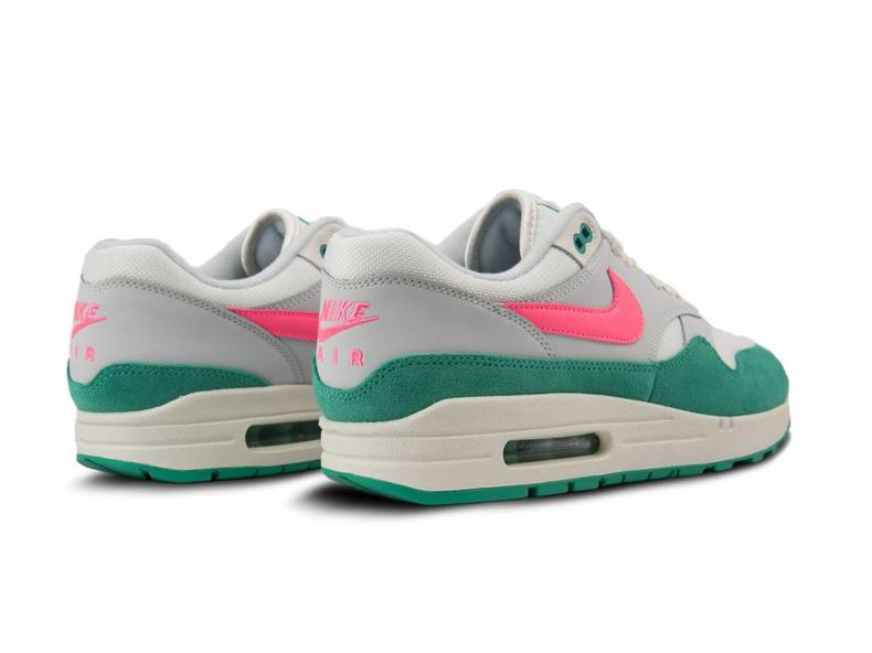 Air Max 1 Summit White Sunset Pulse Kinetic Green AH8145 106