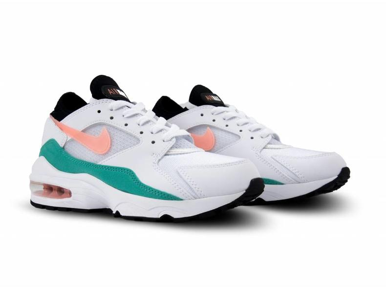 Air Max 93 White Crimson Bliss 306551 105