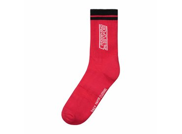 Daily Paper Continue Line Socks Red NOSA12