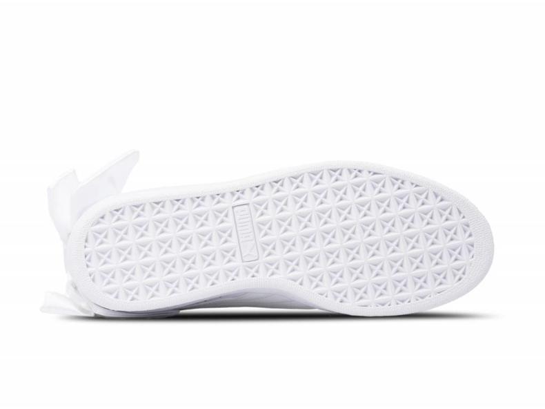 Basket Bow Wn's Puma White Puma White 367319 01