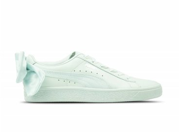 Puma Basket Bow Wn's Blue Flower Blue Flower 367319 03