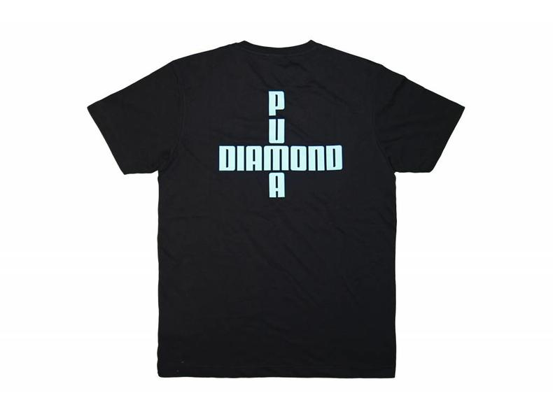 x Diamond Logo Tee Puma Black 575358 01