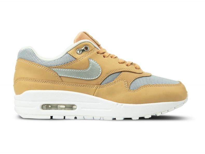 san francisco bb2ab c29db WMNS Air Max 1 SE PRM Vachetta Tan Metallic Silver AO0795 200