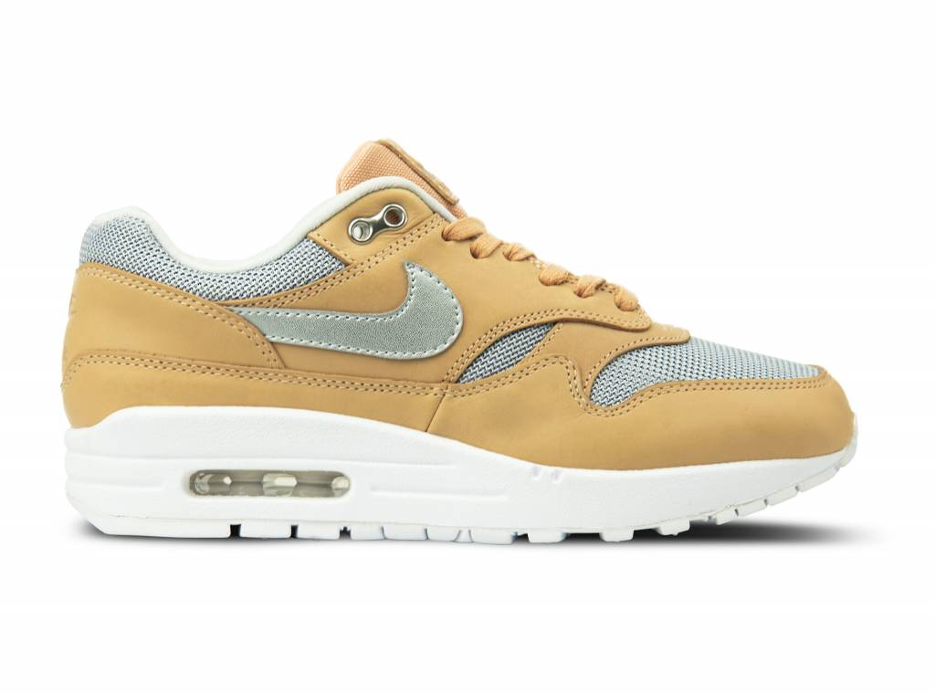 b22b3efe5eea WMNS Air Max 1 SE PRM Vachetta Tan Metallic Silver AO0795 200 will be added  to your shopping card