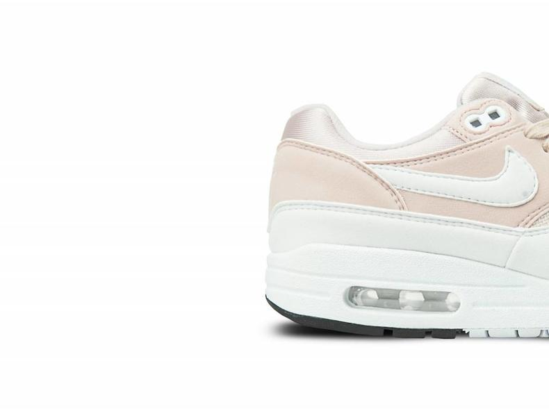 reputable site 565b6 0dd03 WMNS Air Max 1 Barely Rose White 319986 607