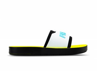 Puma x Fenty Surf Slide Wns Puma Black White Yellow 367747 02