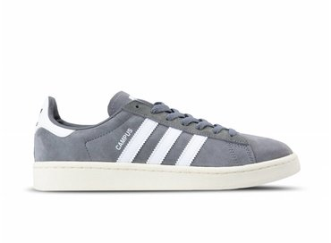 Adidas Campus Grey Three Footwear White Chalk White BZ0085