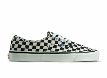 Vans Authentic 44 DX Anaheim Factory Black Check VN0A38ENOAK