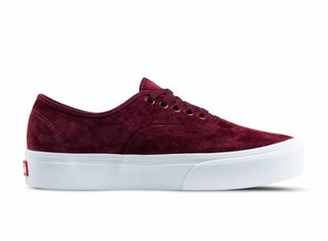 Vans Authentic Platform Pig Suede Port Royale VN0A3AV8S3N