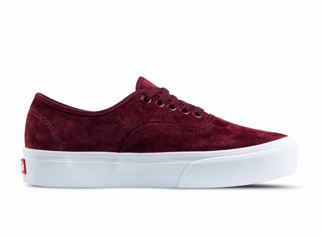 Authentic Platform Pig Suede Port Royale VN0A3AV8S3N