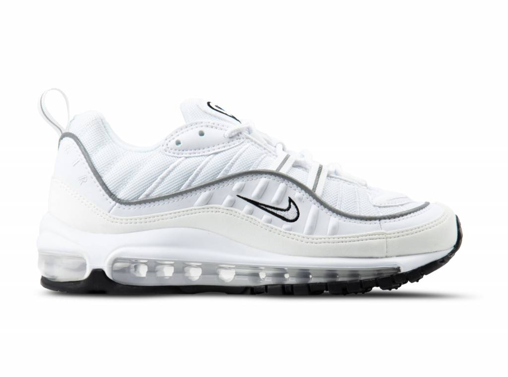 5bb051af1d56 Nike W Air Max 98 White White Reflect Silver AH6799 103
