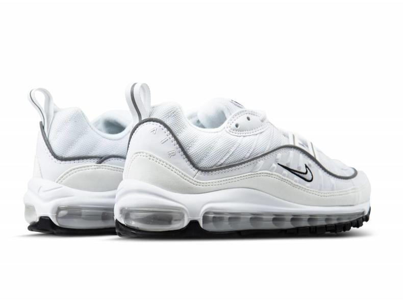 W Air Max 98 White White Reflect Silver AH6799 103