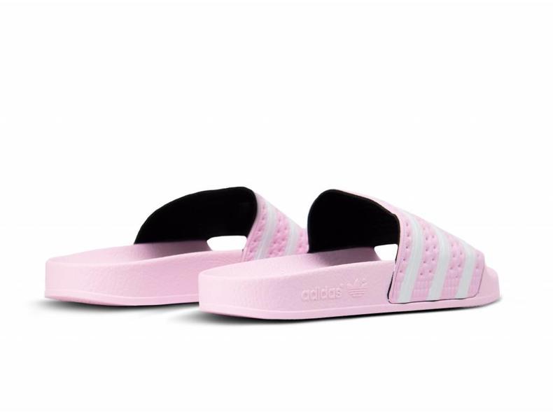 Adilette Pink Footwear White Pink B37683
