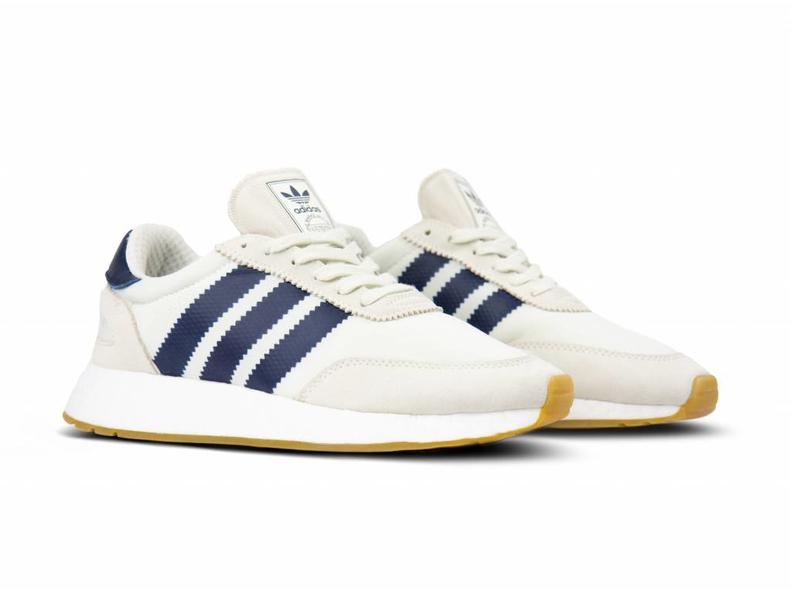 I 5923 Running White Collegiate Navy Gum B37947